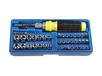 Набор инструментов торцевые головки и биты STAYER 2555-H41, 41 предмет