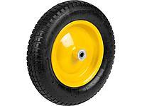 Колесо для тачки пневматическое с подшипником GRINDA 422405, 360 мм, подходит для тачек артикул 422396, 422399