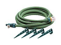 Шланг для полива сочащийся RACO 4270-55925, в комплекте с коннекторами и колышками, 1/2x7,5м