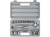 Набор инструментов торцовые головки STAYER 27583-H16, STANDARD, хромированное покрытие, 16 предметов
