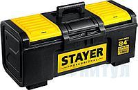 """Ящик для инструмента """"TOOLBOX-24"""" пластиковый, STAYER Professional, ( 38167-24 )"""