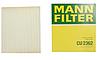 Воздушные фильтр Mann CU 2362