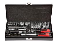 Набор инструментов торцевые головки и биты ЗУБР 27640-H45, МАСТЕР, биты, дополнительные принадлежности, Cr-V,