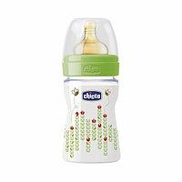 Бутылочка Chicco Wellbeing для кормления Пчелка  латекс 150 ml 0+