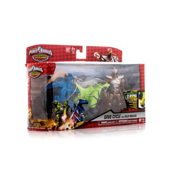 Игрушка Power Rangers Samurai Dino Charge ДИНОБАЙК + ФИГУРКА  12см в асс.