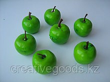 Декор. Яблочки зеленые.  35 мм. Creativ      423