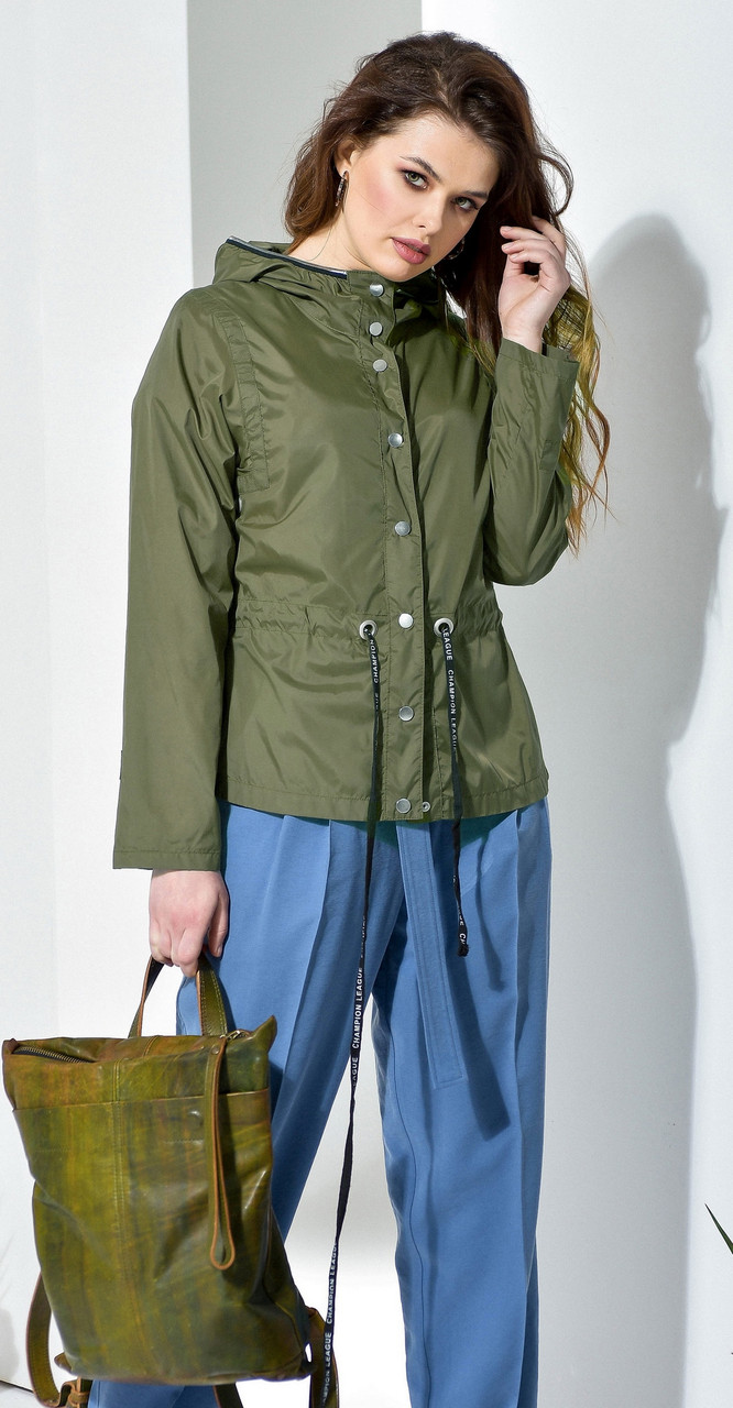 Куртка Anna Majewska-A084, хаки, 50