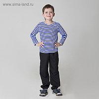 Карнавальная тельняшка-фуфайка военного, детская, р. 38, рост 146 см