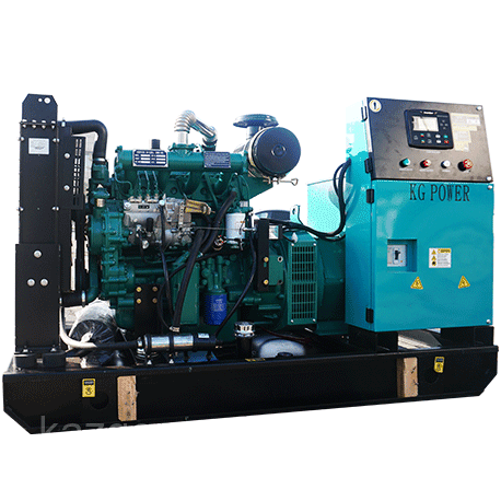 Дизельный генератор(электростанция) Shanghai Dongfeng SP-SY40, 40 кВт в открытом исполнении