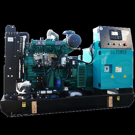 Дизельный генератор(электростанция) Shanghai Dongfeng SP-SY300, 300 кВт в открытом исполнении