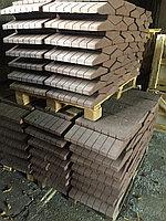 Заборный накрывочный элемент коричневый