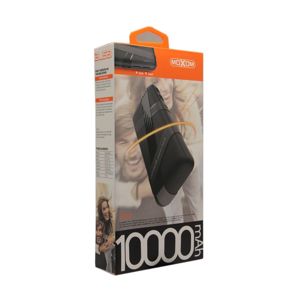 Внешний аккумулятор Power Bank Moxom MCK-016 10000 mah