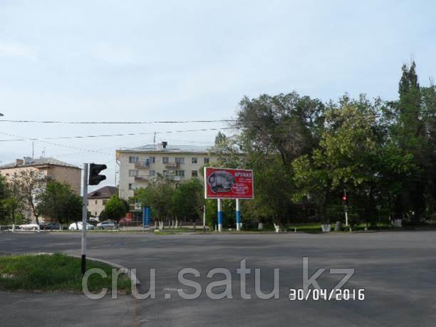 Ул. Сулейманова - ул.Желтоксан (призматрон)