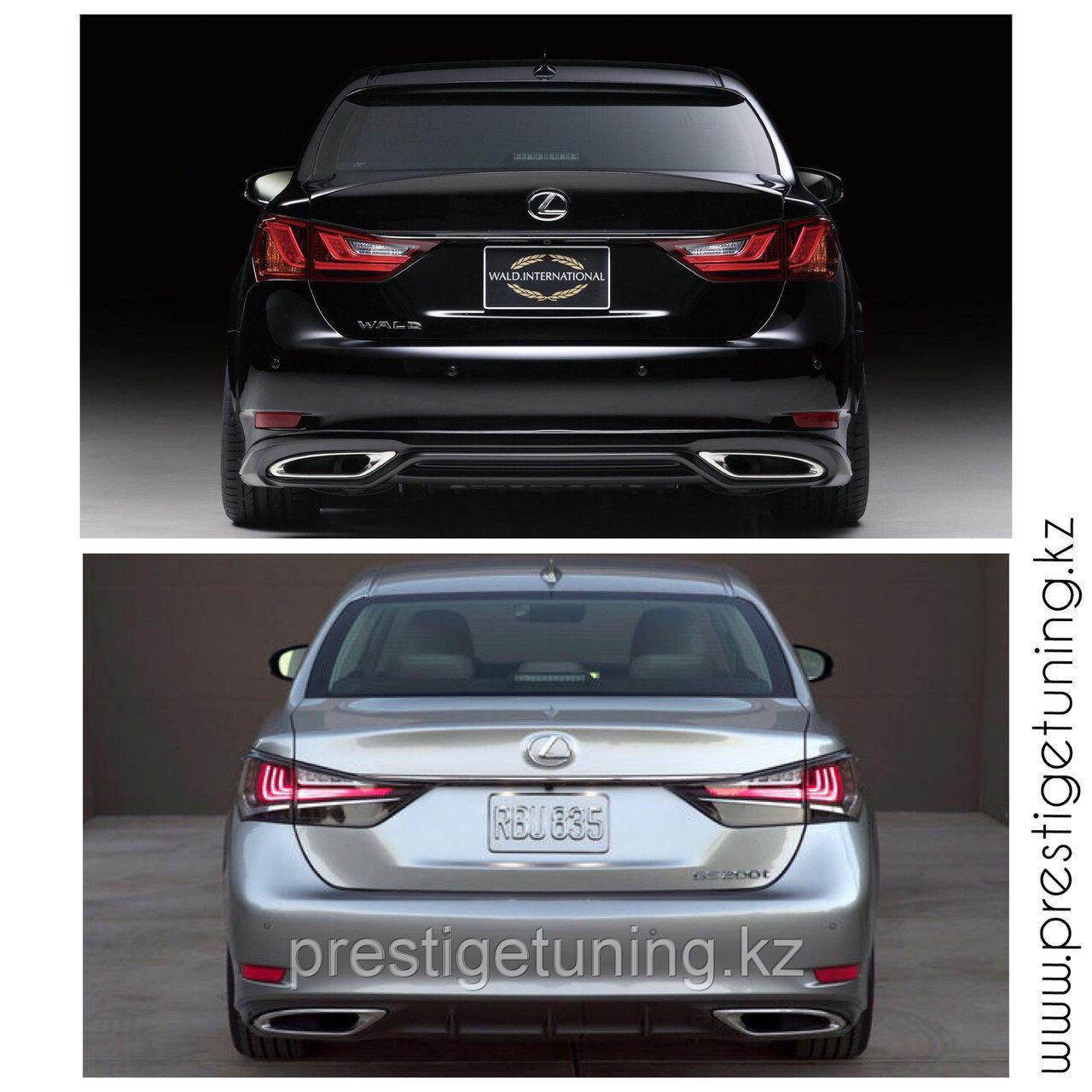 Задние фонари на Lexus GS F-sport 2012-15 (Оригинал)