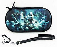Чехол на молнии с 3D картинкой PSP 1000/2000/3000 3in1 3D picture, Assassins Creed