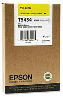 Картридж Epson C13T543400 для Stylus Pro7600/9600 желтый