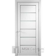 Межкомнатная дверь Турин ПВХ белая