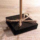 Ценник черный, меловый (размером с визитку), фото 4
