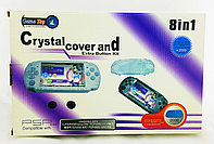 Набор аксессуаров Game Top PSP Slim 2000/3000 8in1 Crystal Cover and Extra Button Kit, фото 1