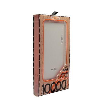 Внешний аккумулятор Power Bank Moxom MI-18 10000 mah, фото 2