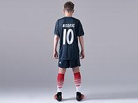 Детская  футбольная форма Реал Мадрид 2018-19 Modric 10 ГОСТЕВАЯ