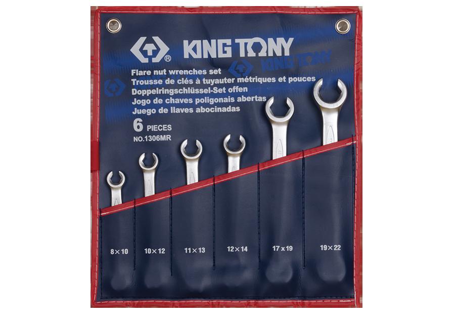 Набор разрезных ключей KING TONY 1306MR (6 предметов)