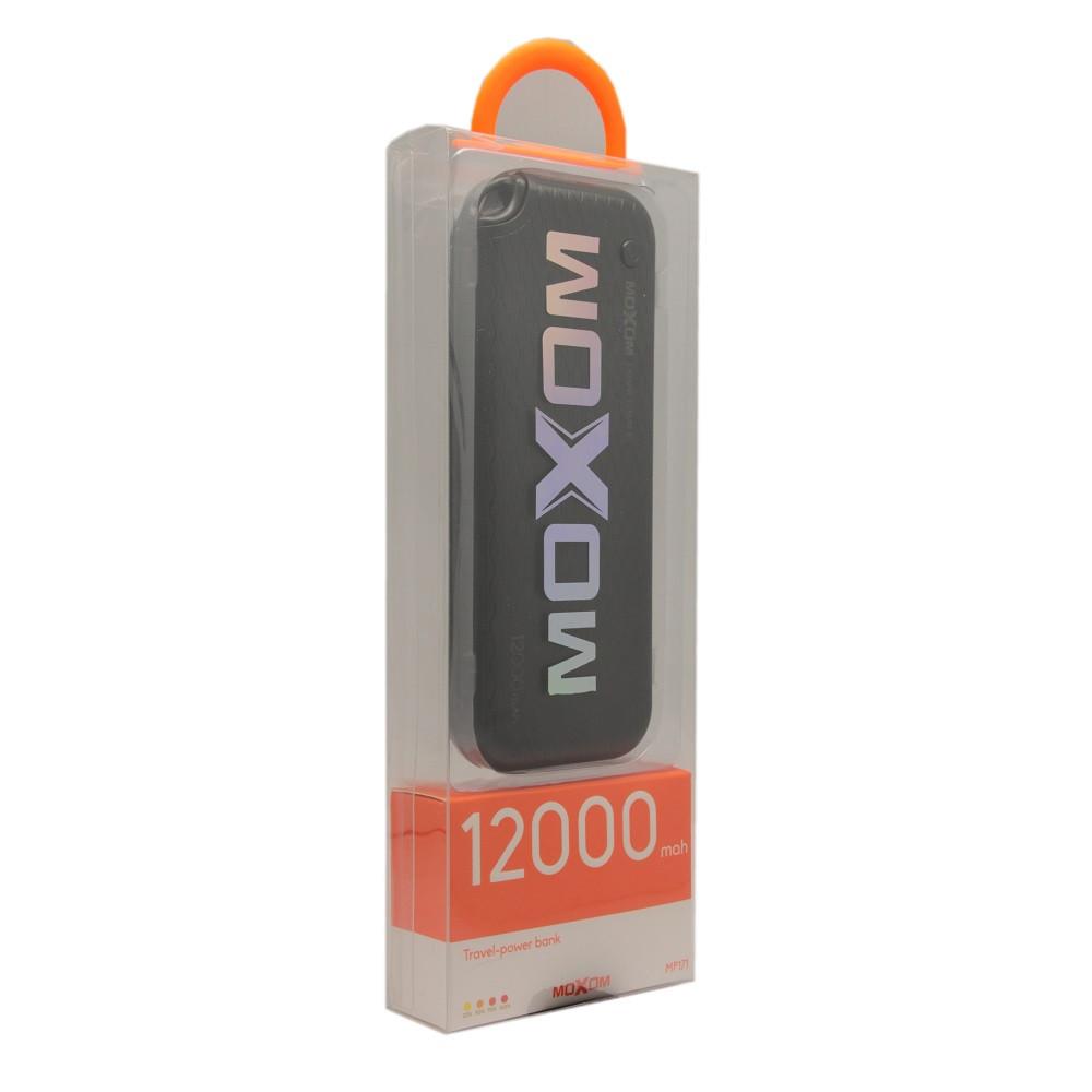 Внешний аккумулятор Power Bank Moxom MP171S 12000 mah