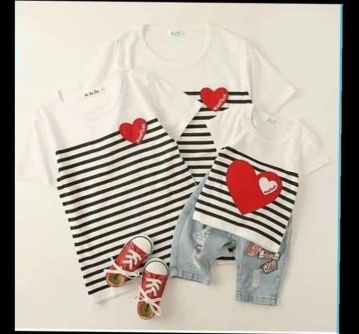 Детская футболка с сердечкой