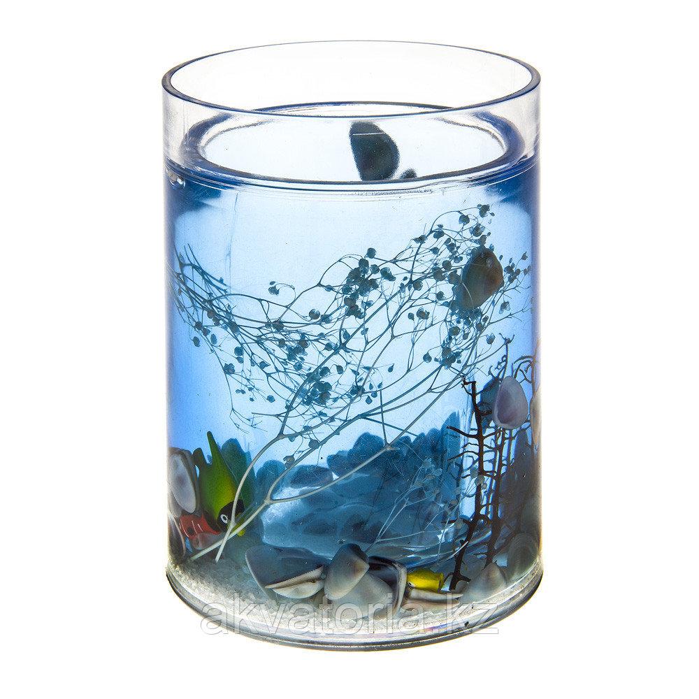 334-01 Стакан, серия Морские рыбки
