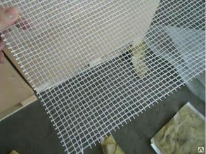 HAUSER Сетка стеклотканевая фасадная, щелочестойкая, (1м х 50м), 145г (белая), рулон