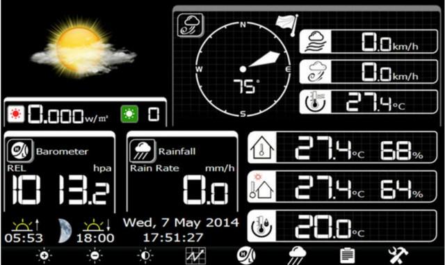 Wi-Fi Метеостанция NSB-603