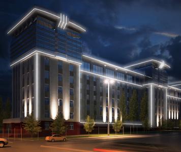 Архитектурное освещение, подсветка фасадов зданий
