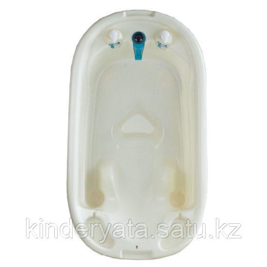 Детская анатомическая ванна Pituso голубой