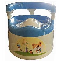Pituso: Детский горшок-кресло КОМФОРТ Голубой BLUE