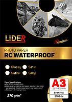 Односторонняя фотобумага LIDER