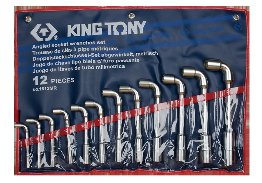 Набор L-образных торцевых ключей KING TONY 1812MR (12 предметов)