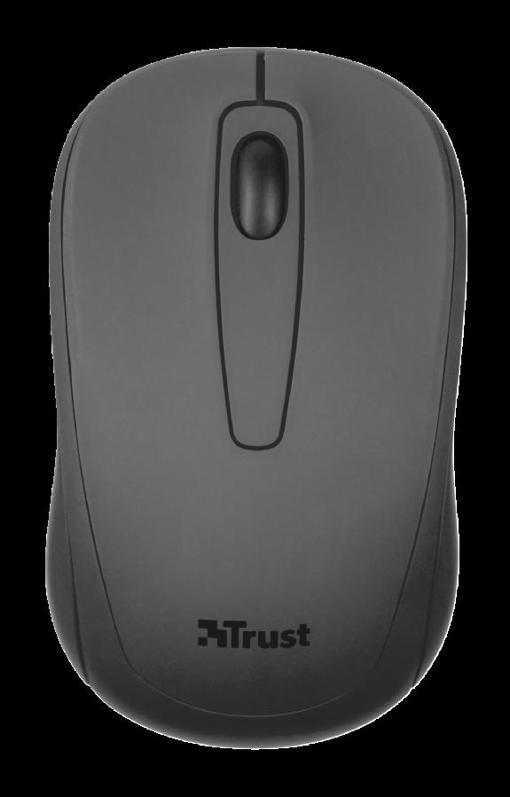 Мышь беспроводная Trust Ziva Compact черный