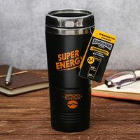 Термостакан без ручки 2 в 1 'Super energy', 500 мл