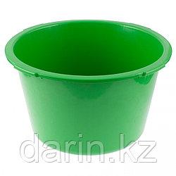 Таз круглый строительныйй, зеленый, 30 л, Россия Сибртех
