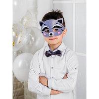 Карнавальный костюм 'Енотик', маска, бабочка