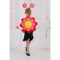 Карнавальный набор 'Улыбчивый цветок', 3 предмета ободок, жезл, аксессуар, 3-5 лет