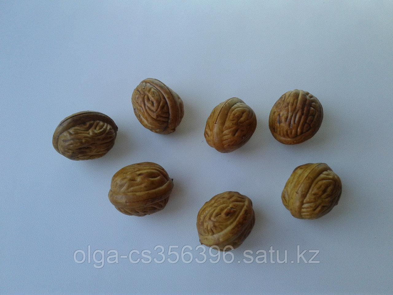 Декор фрукты. Орех. 3,5 см..Creativ 2548