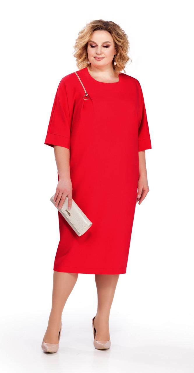 Платье Pretty-839/3, красный, 56
