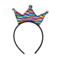 Карнавальный ободок 'Корона', с пайетками (комплект из 2 шт.)