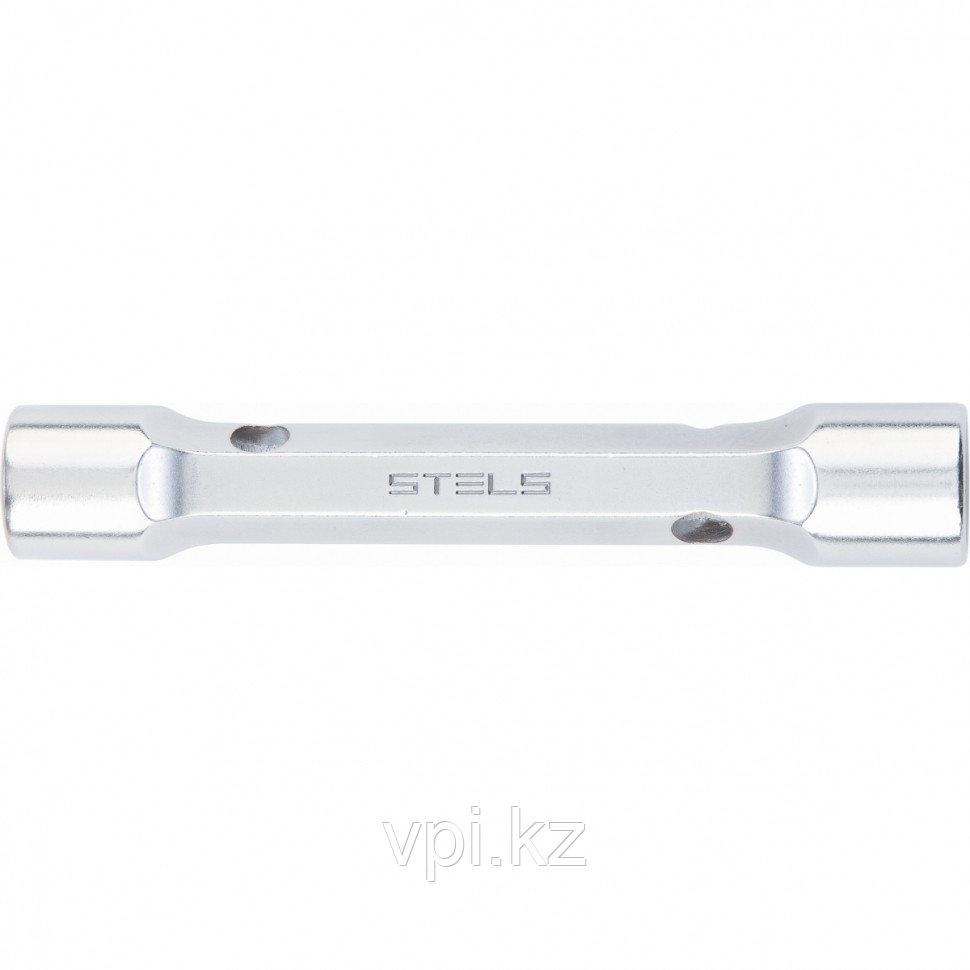 Торцевой трубчатый, усиленный, прямой ключ,  22*24мм,  Stels