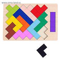 Головоломка «Цветные геометрические фигуры»