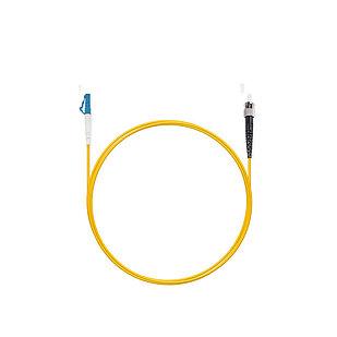 Патч Корд Оптоволоконный LС/UPC-ST/UPC SM 9/125 Simplex 3.0мм 3 м