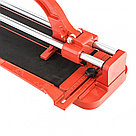 Плиткорез 500 х 16 мм, литая станина,каретка на подшипниках, усиленная рукоятка MTX, фото 4