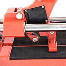 Плиткорез 500 х 16 мм, литая станина,каретка на подшипниках, усиленная рукоятка MTX, фото 5