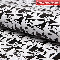Бумага упаковочная глянцевая  'Микки', Микки Маус, 70х100 см (комплект из 10 шт.)